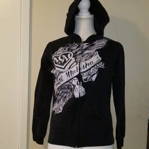 Metal mulisha hooded jacket